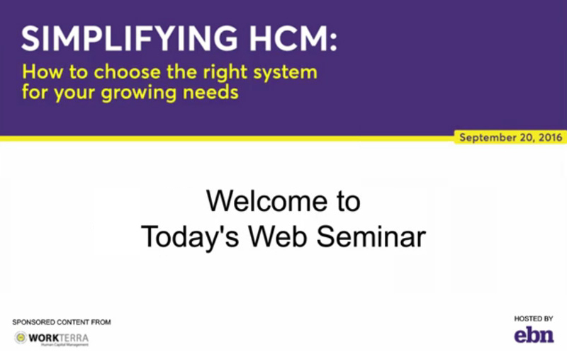 How to Choose the Right System for Your Growing Needs - Webinar